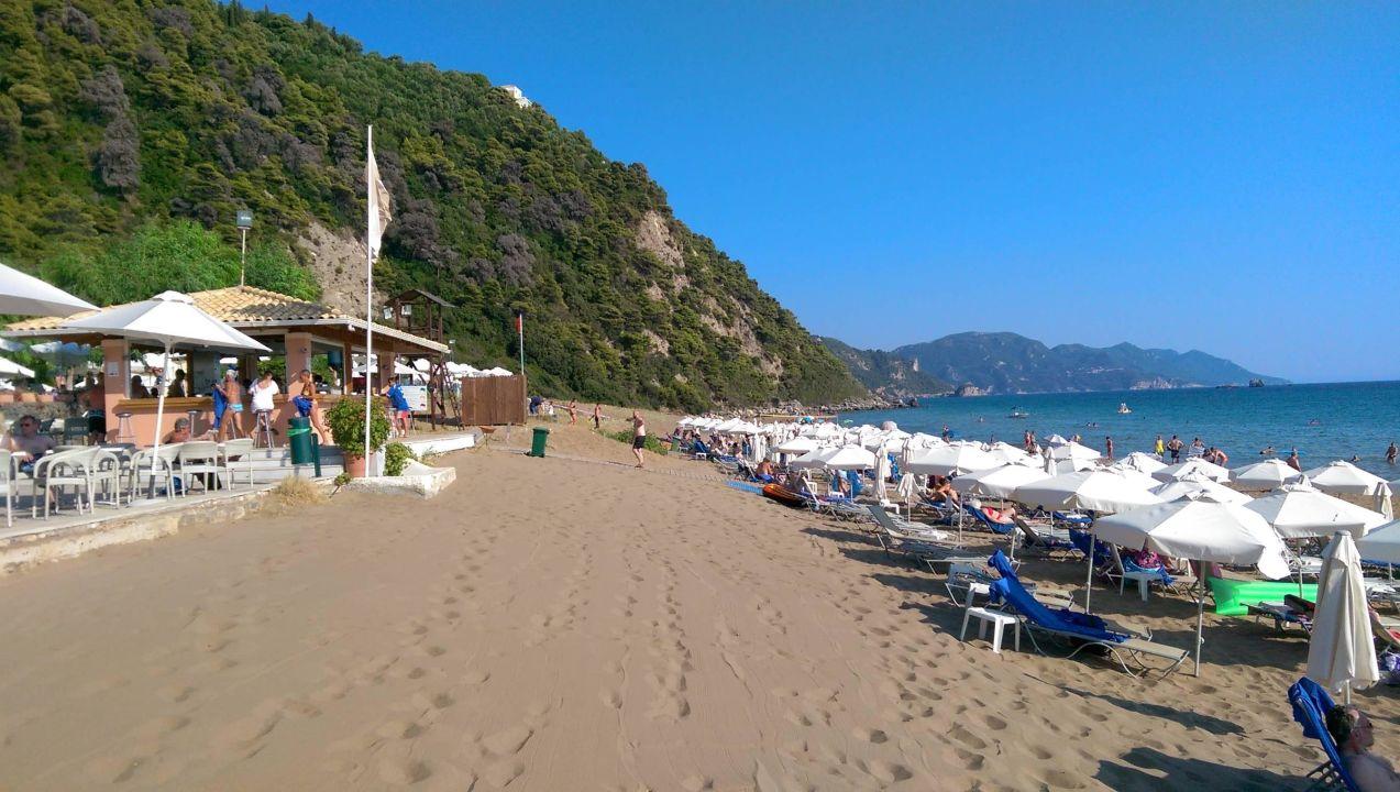 Strand mit Poolbar lti Grand Hotel Glyfada