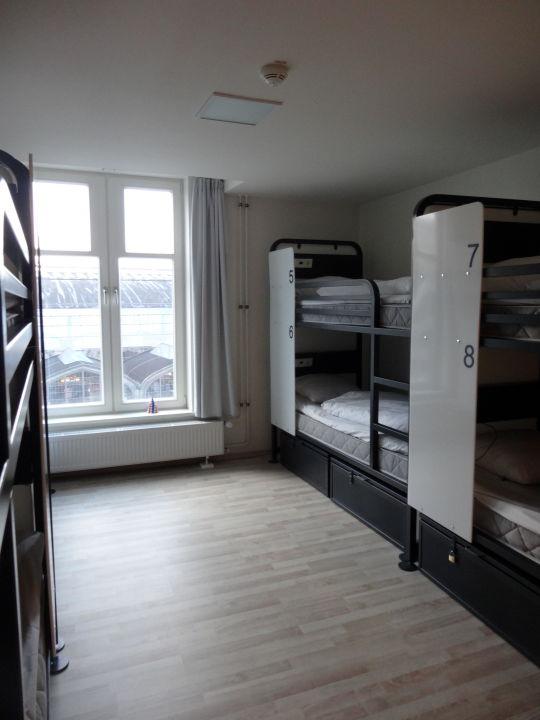 """Hotel Hamburg Dusche Im Zimmer : Bild """"Dusche und Klo im Zimmer"""" zu Generator Hostel Hamburg in Hamburg"""
