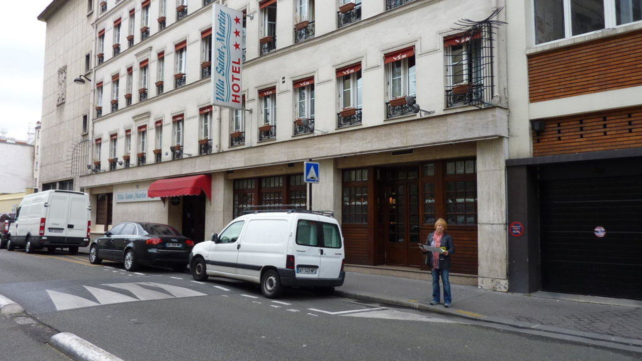 Straßenseite  Timhotel Gare de l'Est