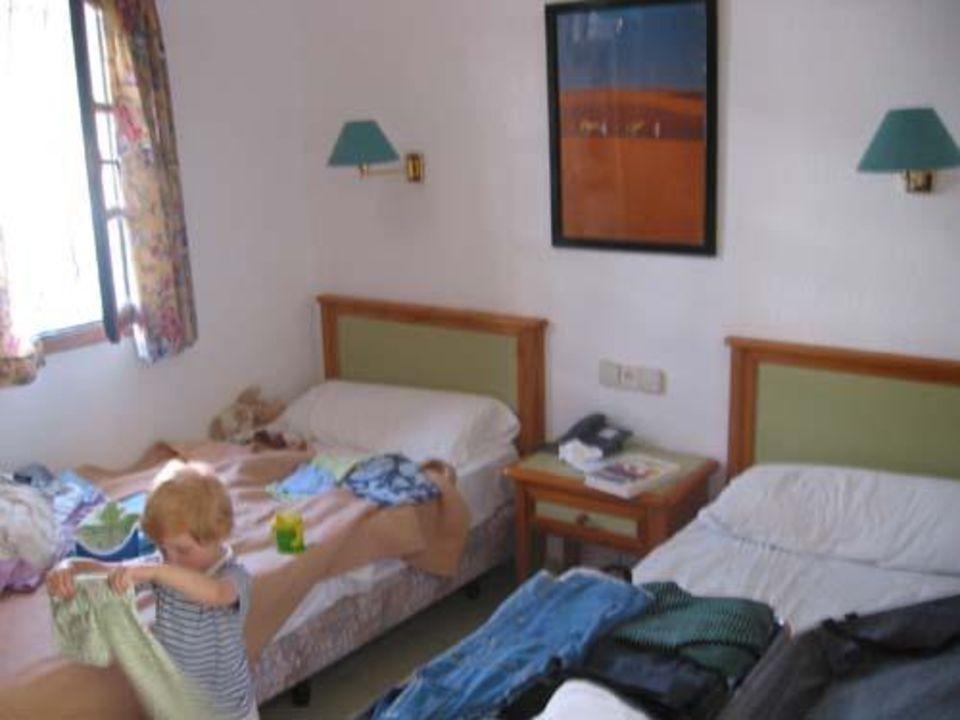 Der Schlafraum Hotel Maspalomas Lago