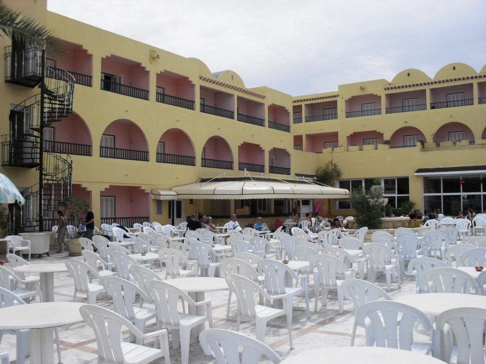 Terrasse extérieure Hotel Houda Golf & Beach Club