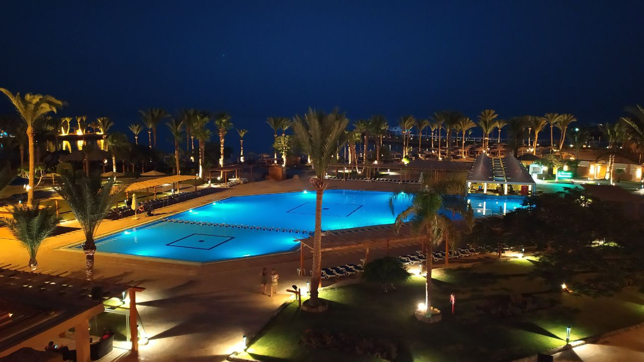 Ausblick Continental Hotel Hurghada