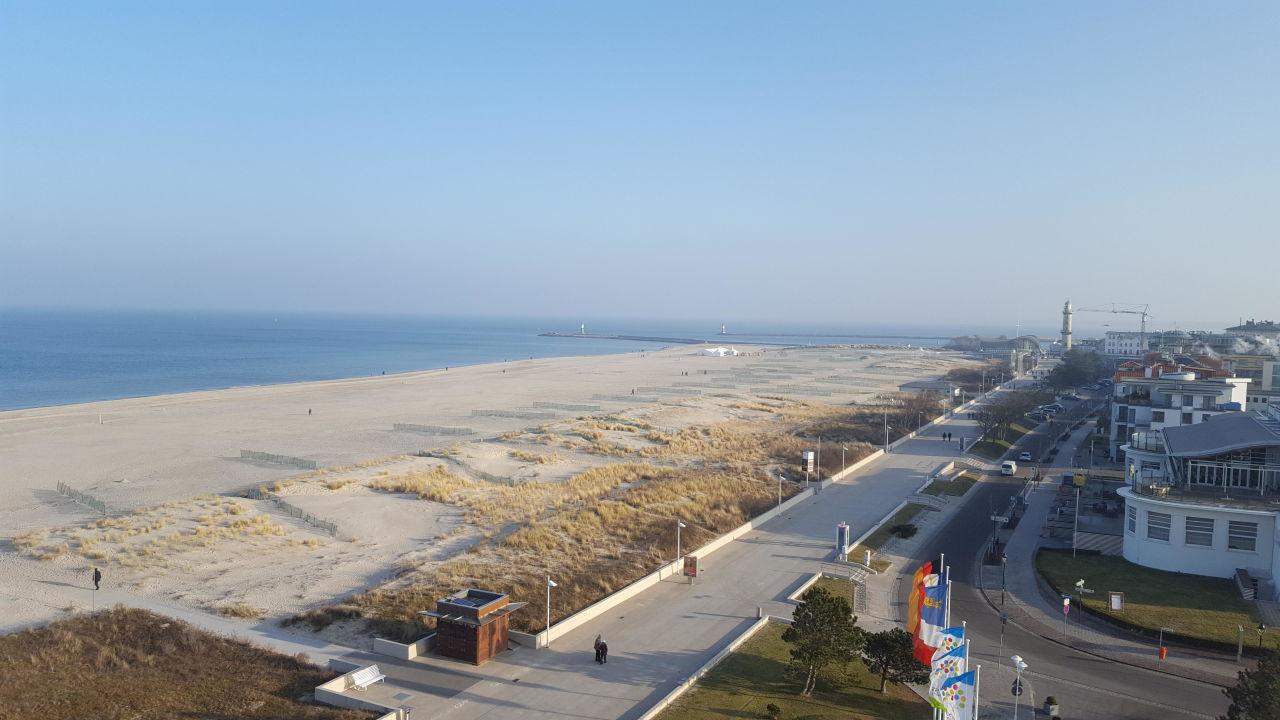 Strandblick aus der 7 Etage Hotel Neptun