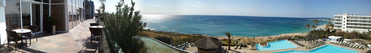Bild quothotelanlagequot zu hotel club atlantica sun garden for Katzennetz balkon mit sun garden hotel ayia napa