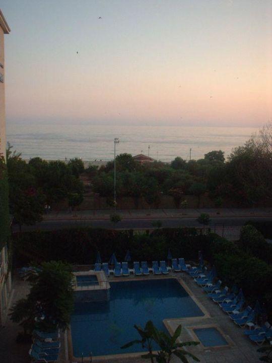 Balkonaussicht Hotel Grand Zaman Beach