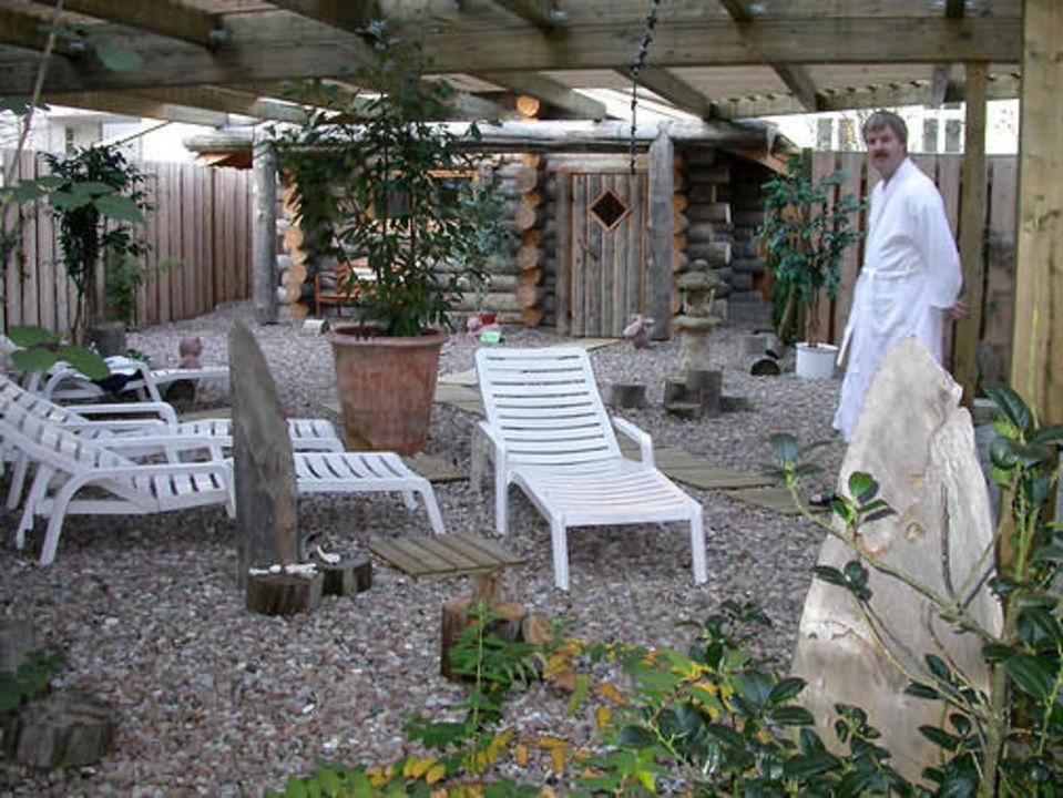 Steigenberger Bad Pyrmont, Außensauna Steigenberger Hotel & Spa Bad Pyrmont