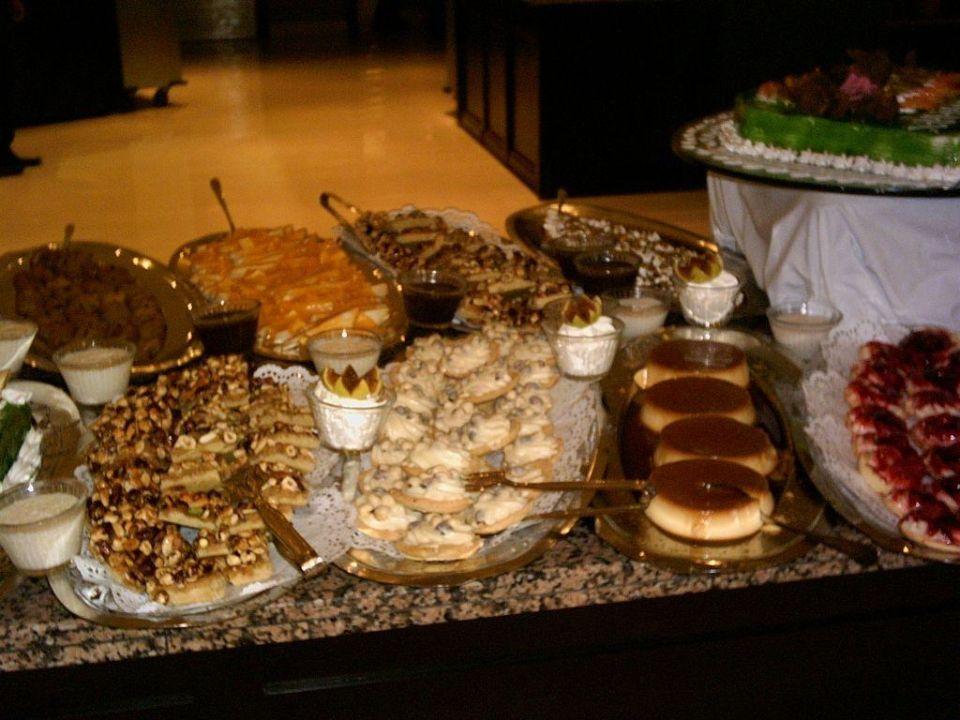 Teil vom Süßspeisenbuffet Hotel Turquoise Turquoise Hotel
