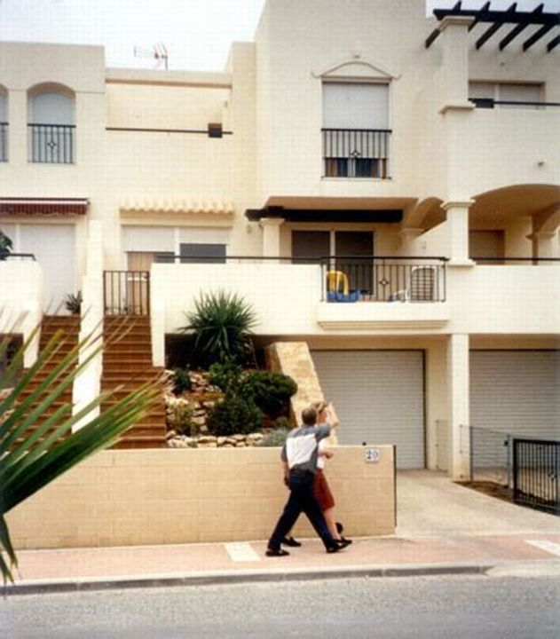 The houses of the urbanization Ladera del Golf in Almerimar. Ladera del Golf Apartments