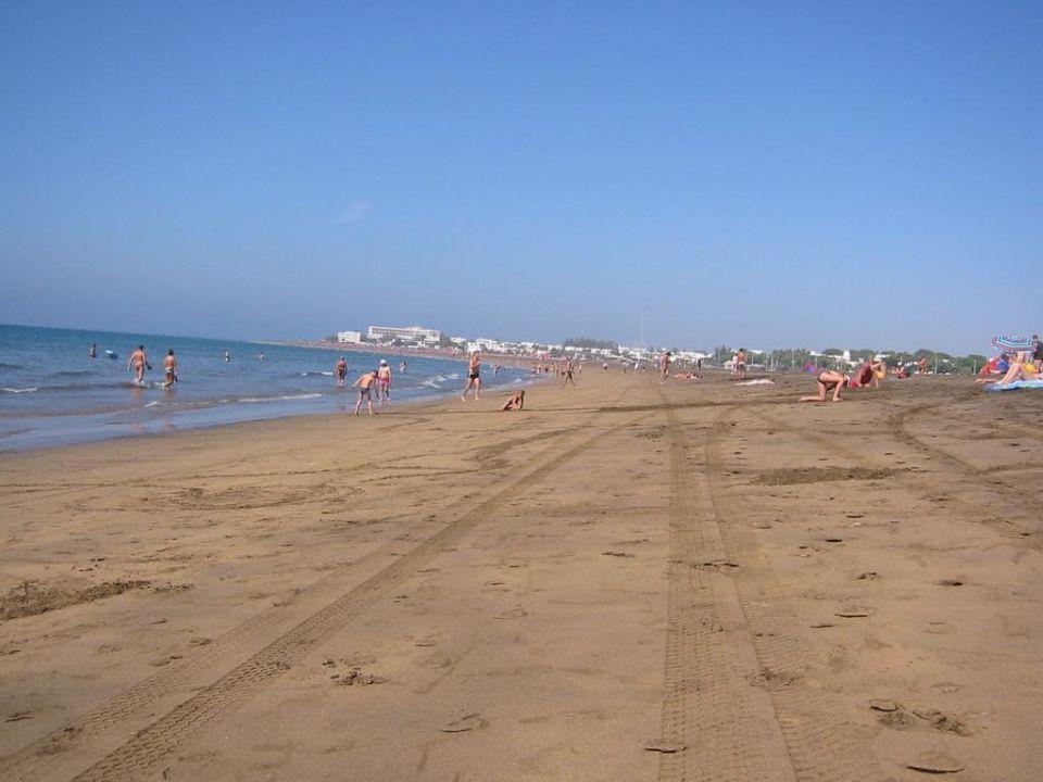 Strand Hotel Riu Paraiso Lanzarote Resort Puerto Del Carmen