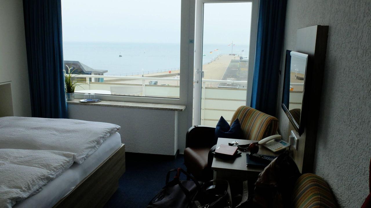Sitzgruppe mit Flachbildschirm Hotel Quisisana
