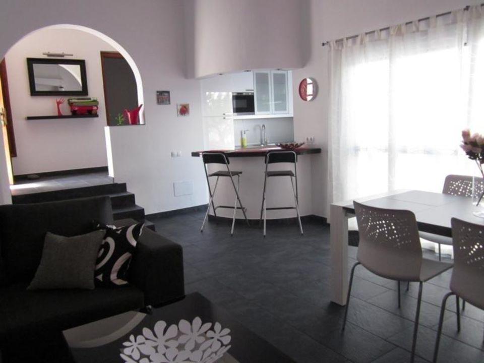 Wohnzimmer/Bar Ferienanlage El Jardin   Bungalow Casa A Sol