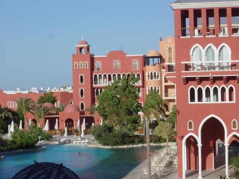 Blick vom Balkon Grand Resort (Hurghada) The Grand Resort