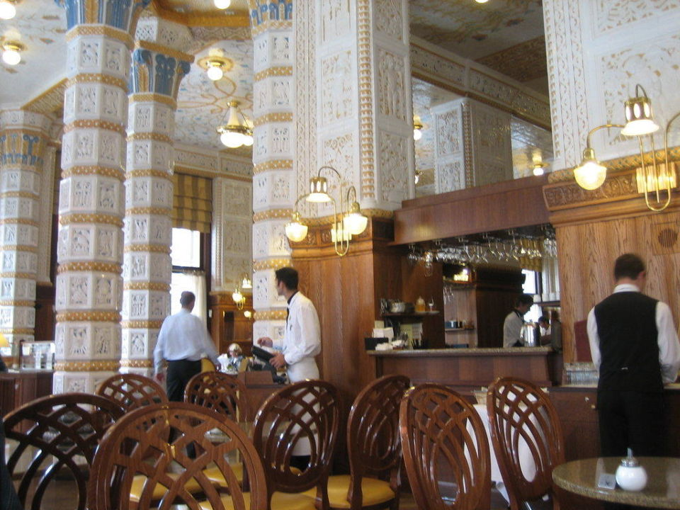 Innensicht Art Deco Imperial Hotel