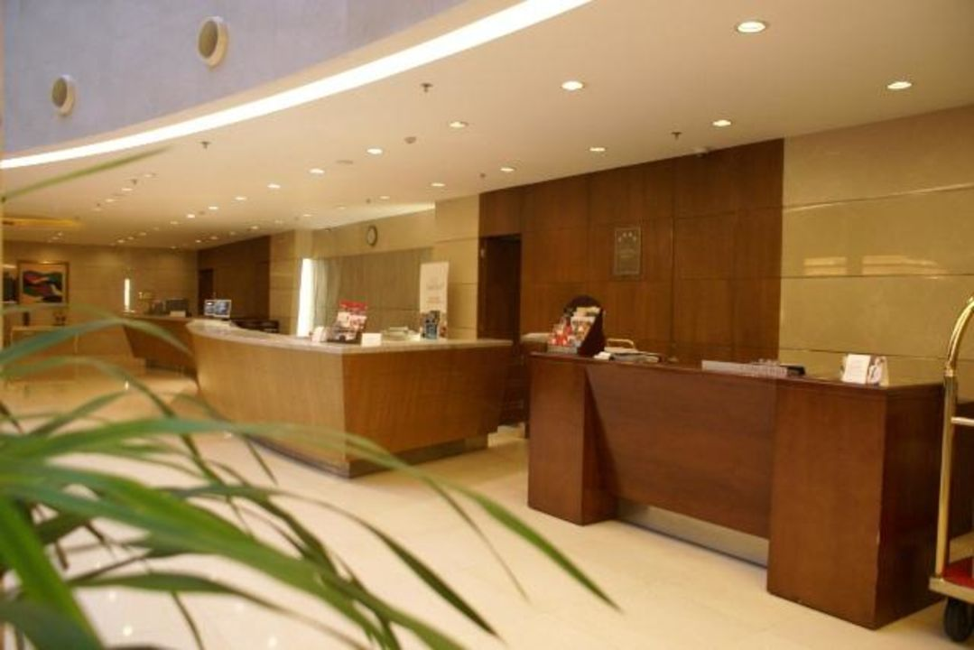 Lobby & Eingang Park Plaza Beijing Science Park