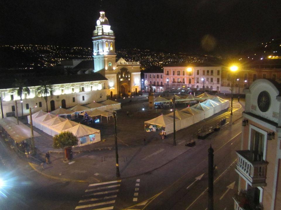 Blick aus Panoramarestaurant Hotel Real Audiencia