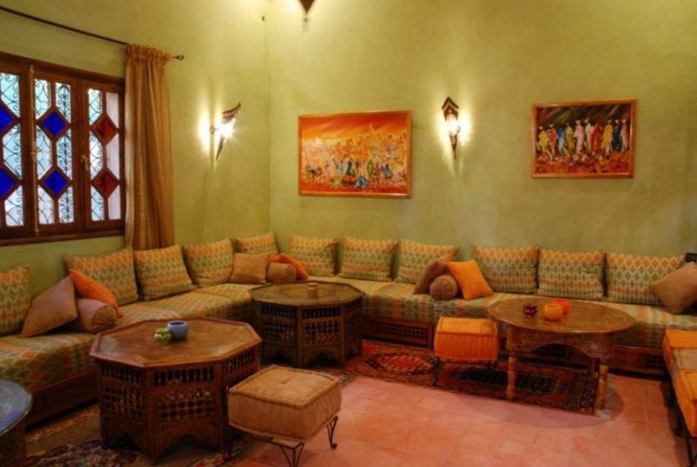 Salon marocain Hotel Jardins Du Draa