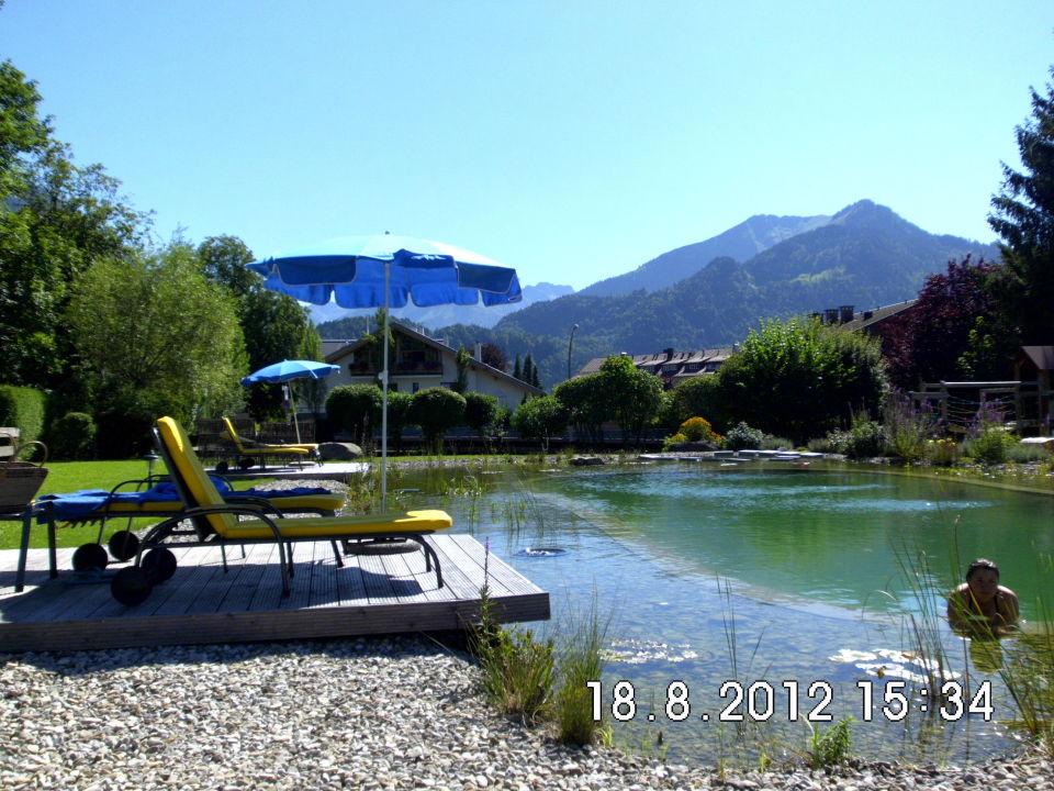 Schwimmteich Parkhotel Frank