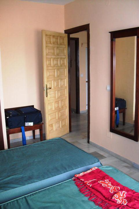 Schlafzimmer Hotel Playamaro