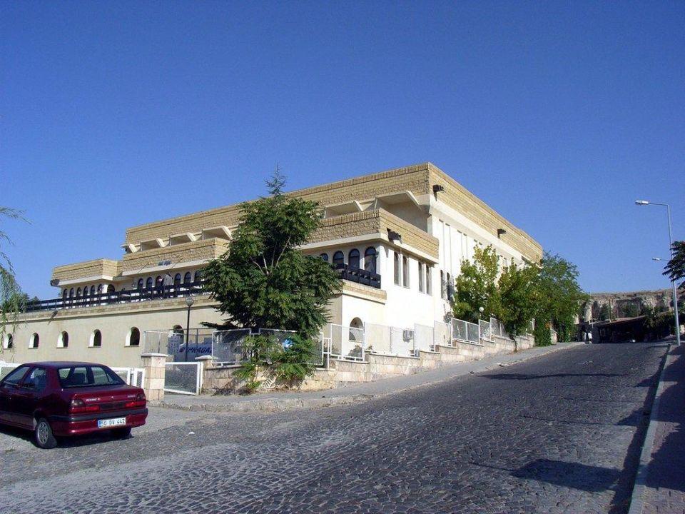 Straßenseite Hotel Club Ürgüp