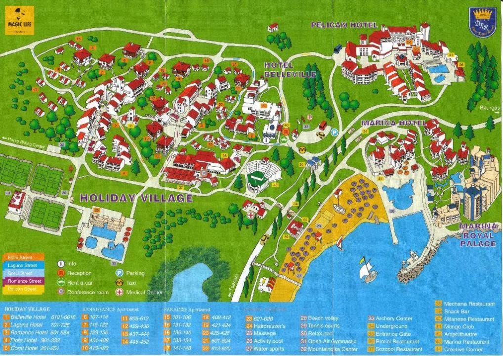 Hotelplan Von Pelican Belleville Marina Village Marina R Duni