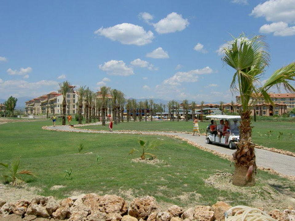Inzwischen ist der Rasen da! lti Xanthe Resort & Spa