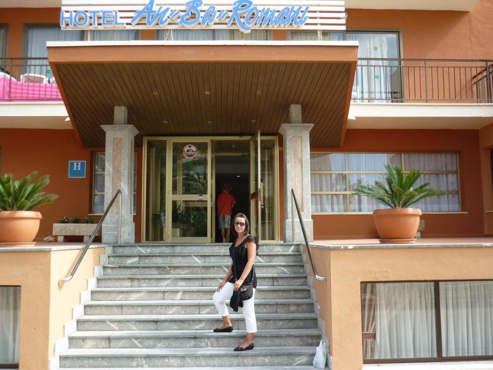 Haupteingang Hotel Anba Romani Anba Romani