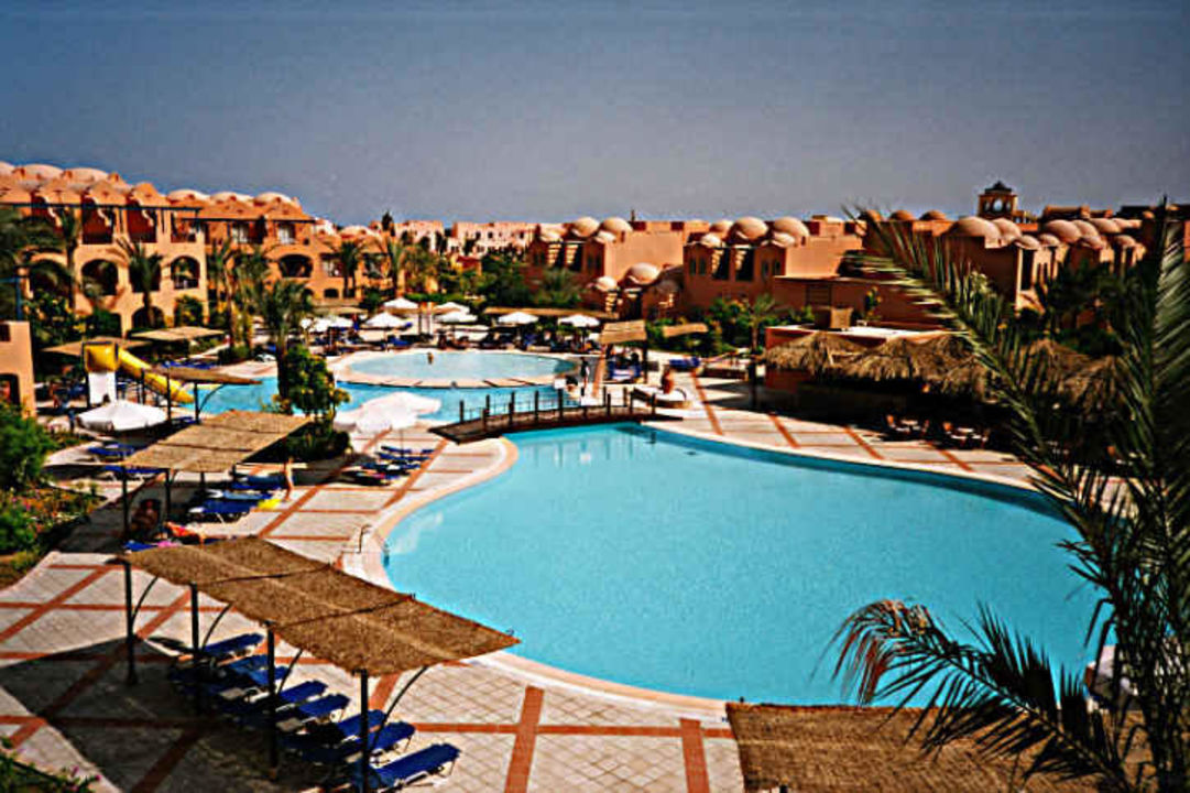Makadi Oasis - Blick auf den kleineren Pool Jaz Makadi Oasis Club & Resort