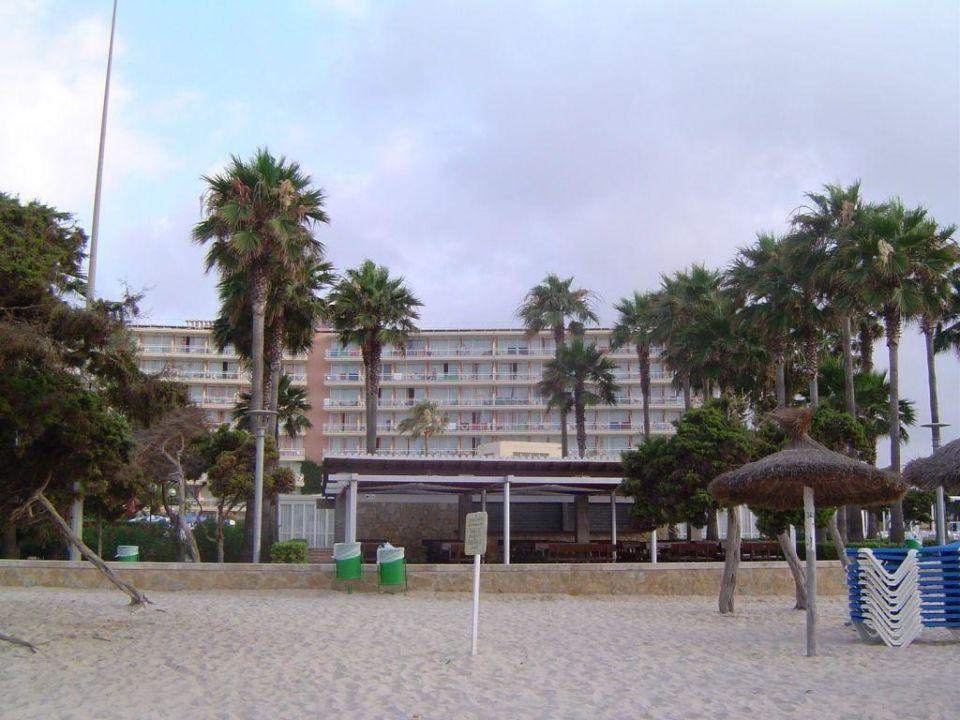 Hotel vom Strand aus Hotel THB Sa Coma Platja