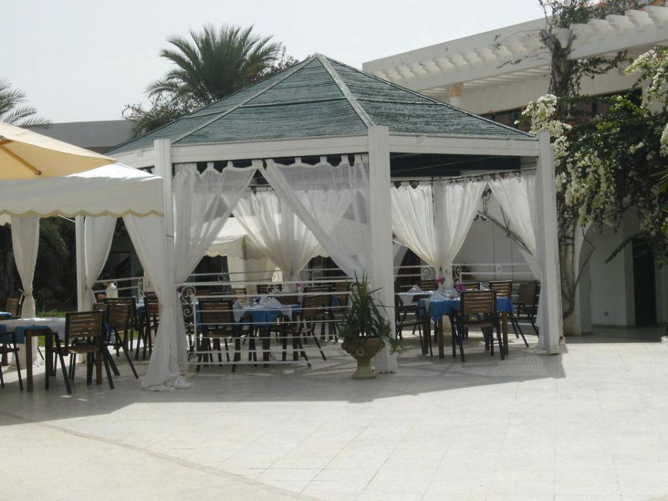 Nach der Verschönerung des Essbereichs Hotel Seabel Aladin Djerba