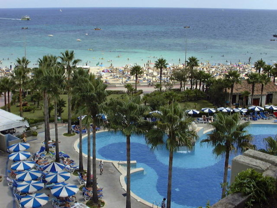 Hotel Royal Mediterraneo/Sa Coma Ausblick Hipotels Mediterraneo - Adults only