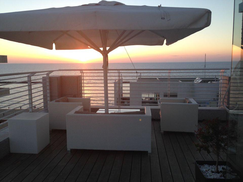 Quot Blick Von Der Dachterrasse Quot The Savoy Hotel Tel Aviv Sea