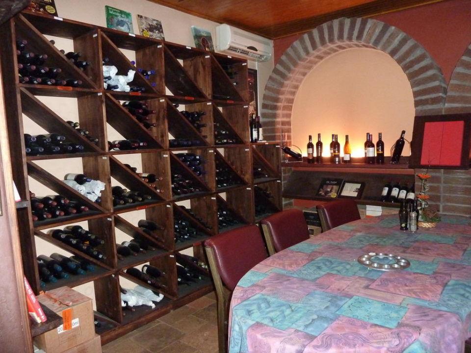Weinzimmer Hotel Sam's Giardino