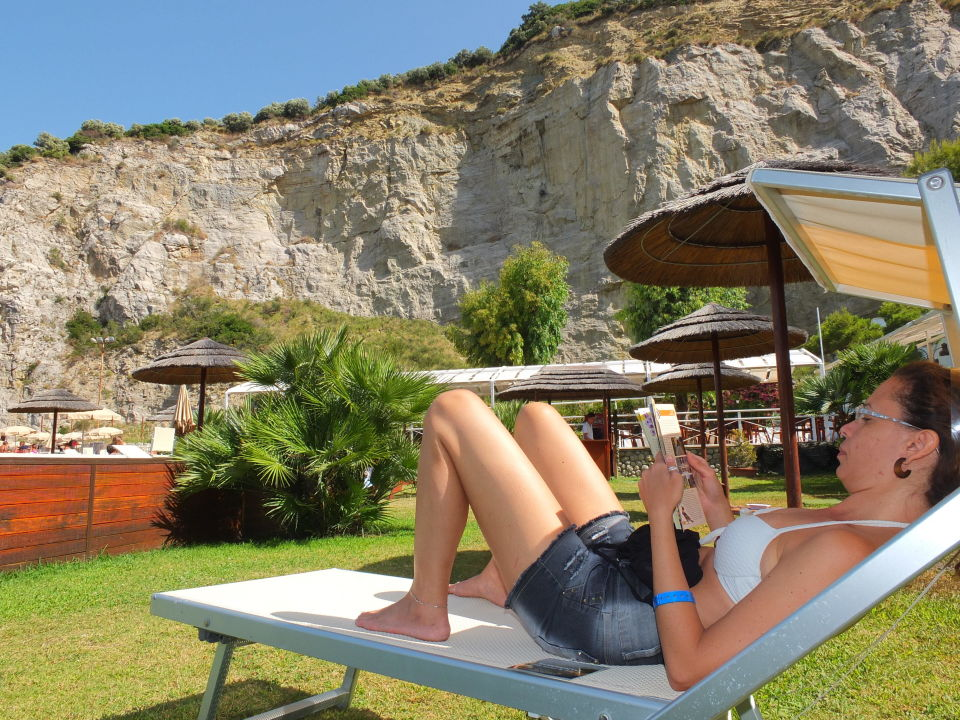 Der Sea Club ist sehr gepflegt Hotel La Maison - Conca Azzurra