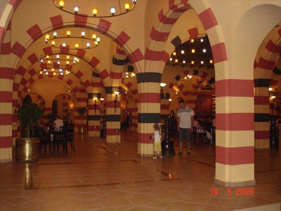 Hall przy recepcji Jaz Makadi Oasis Club & Resort