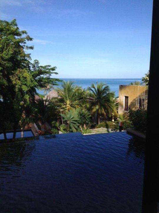 Sicht aus der Lobby Richtung Strand Samui New Star Resort