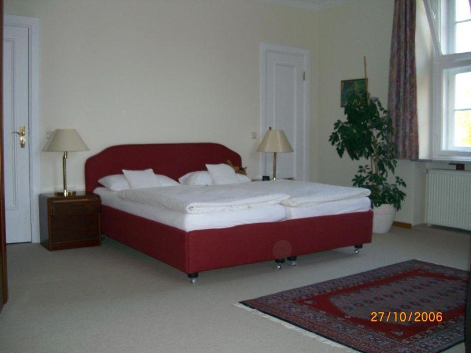 Großes Zimmer im Haupthaus Hotel Gutshaus Stellshagen