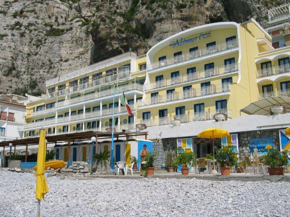 Hotel Alimuri vom Stand aus gesehen Mar Hotel Alimuri Spa