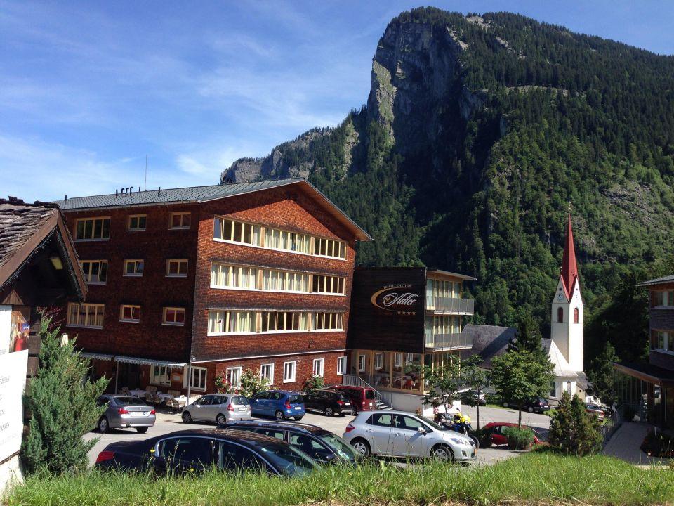 Schone Aussicht Hotel Adler Au Holidaycheck Vorarlberg
