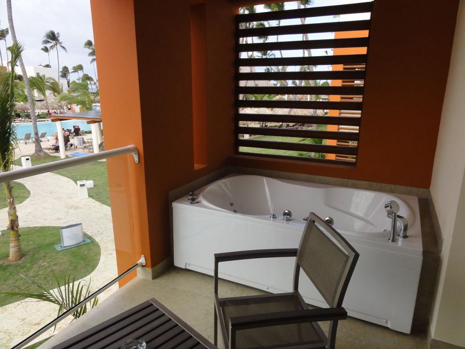 Jacuzzi Am Balkon Breathless Punta Cana Resort Spa Uvero Alto