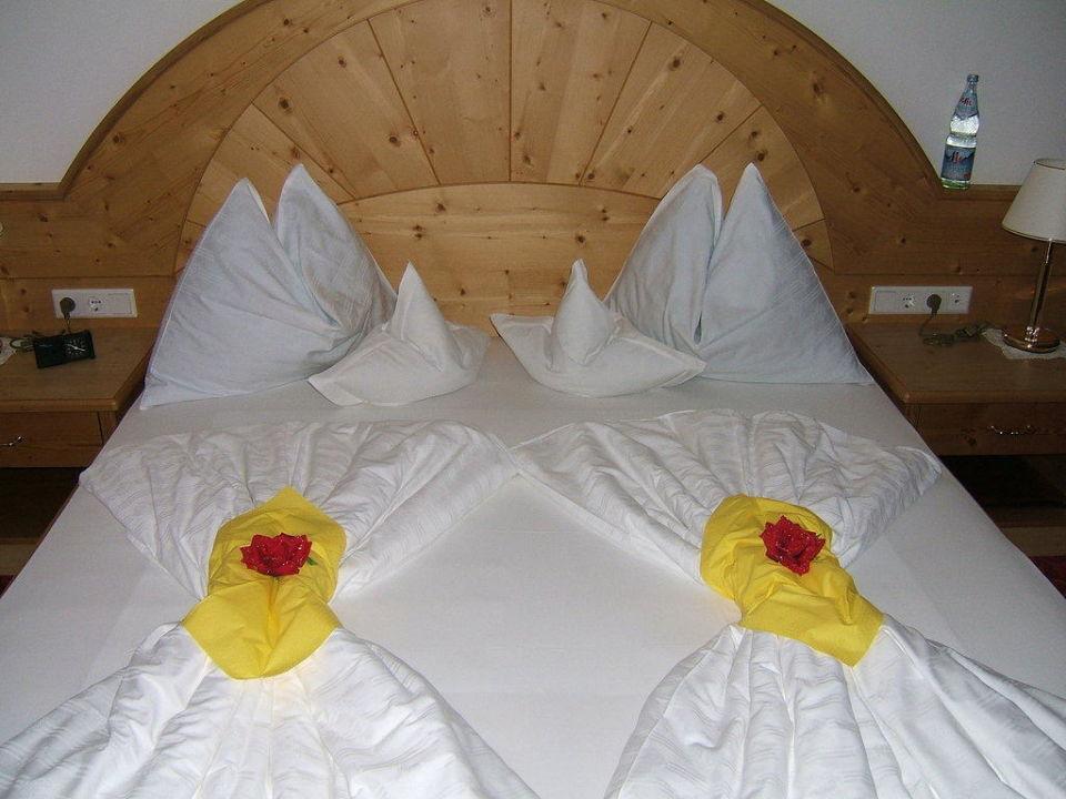 Das liebevoll gereinigte Zimmer Hotel Sonnenburg