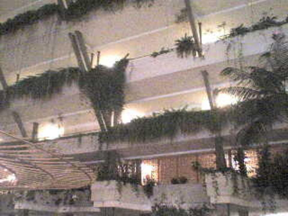Lobbyblick zu den Zimmern Hotel Grand Teguise Playa