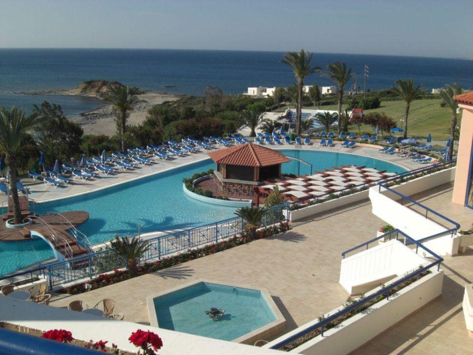 Der Schone Pool Mit Poolbar Hotel Rodos Rhodos Princess Beach