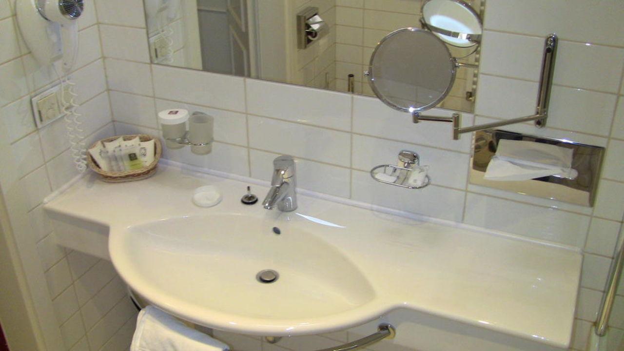 Renoviertes Badezimmer\