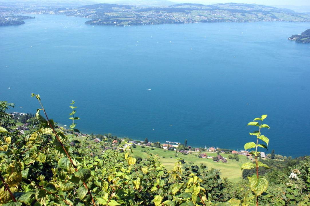 A view on the lake of lucerne Bürgenstock Resort Lake Lucerne - Parkhotel (geschlossen)