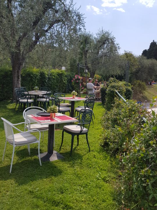 Gartenanlage Hotel La Caletta Bolognese