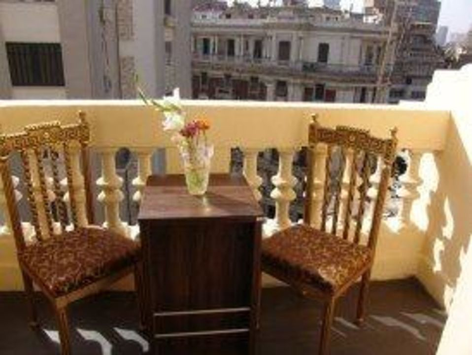 """Balcony """" Guest room  Hotel Grand Royal"""