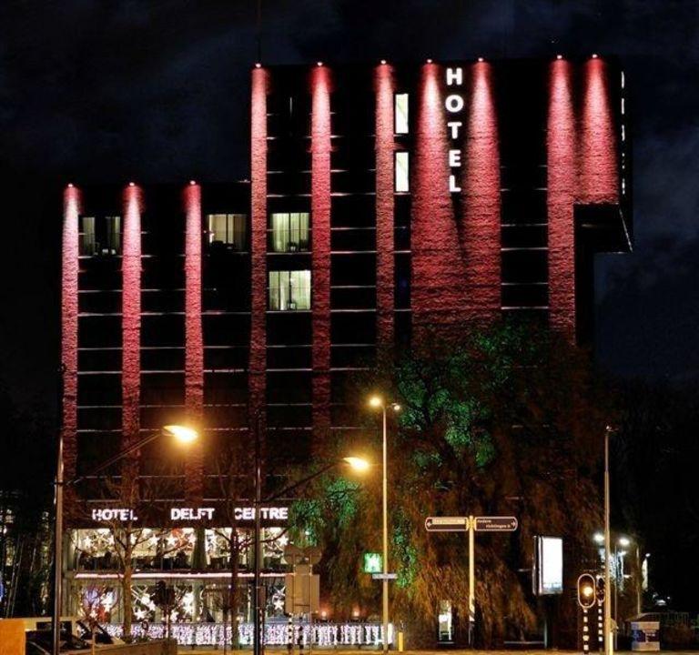 Hotel verlicht\
