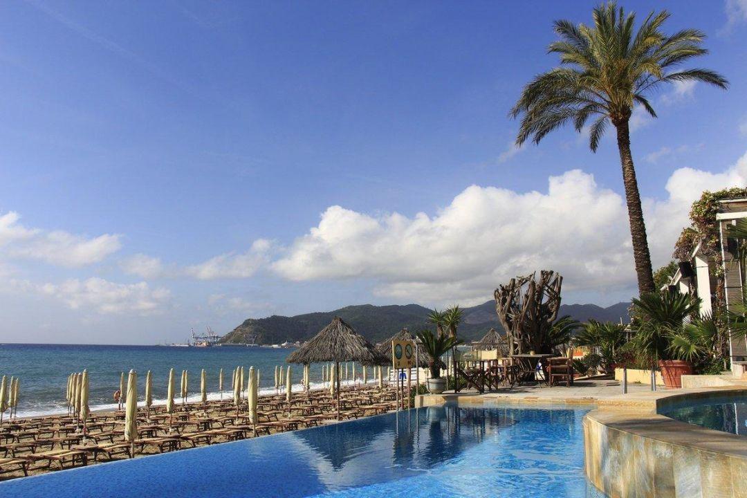 """Pool Mit Blick Aufs Meer"" Mare Hotel (Savona"