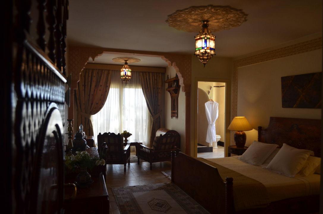 Chambre double vue sur mer avec lit kingsize\