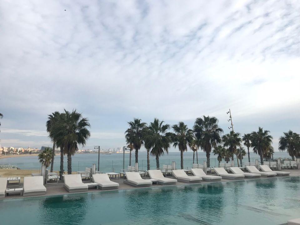 Pool W Barcelona Hotel Barcelona Holidaycheck Katalonien Spanien